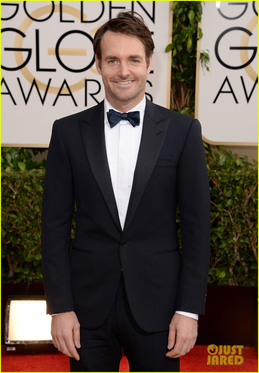 Will Forte Golden Globes  Red Carpet