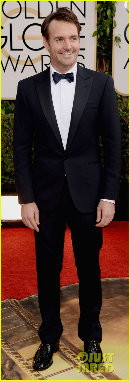 will forte golden globes 2014 red carpet 04