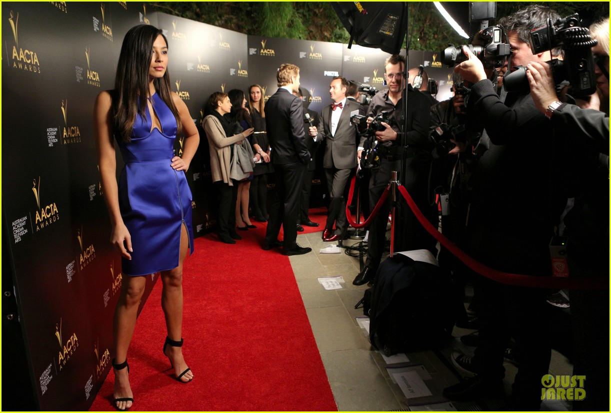jessica gomes david o russell aacta awards 2014 143027737