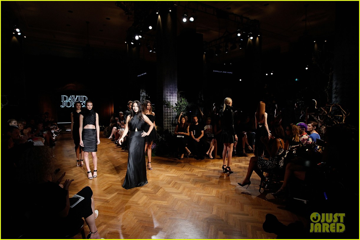 jessica gomes hits the runway for david jones collection launch 123044075