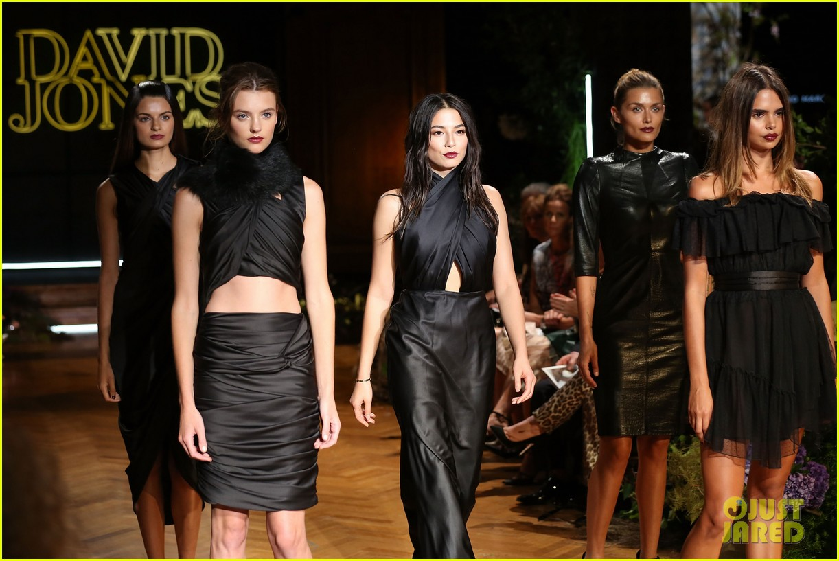 jessica gomes hits the runway for david jones collection launch 133044076