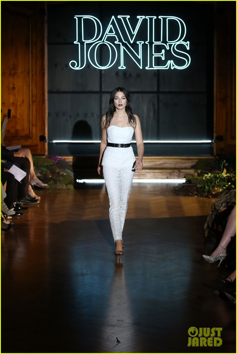 jessica gomes hits the runway for david jones collection launch 203044083