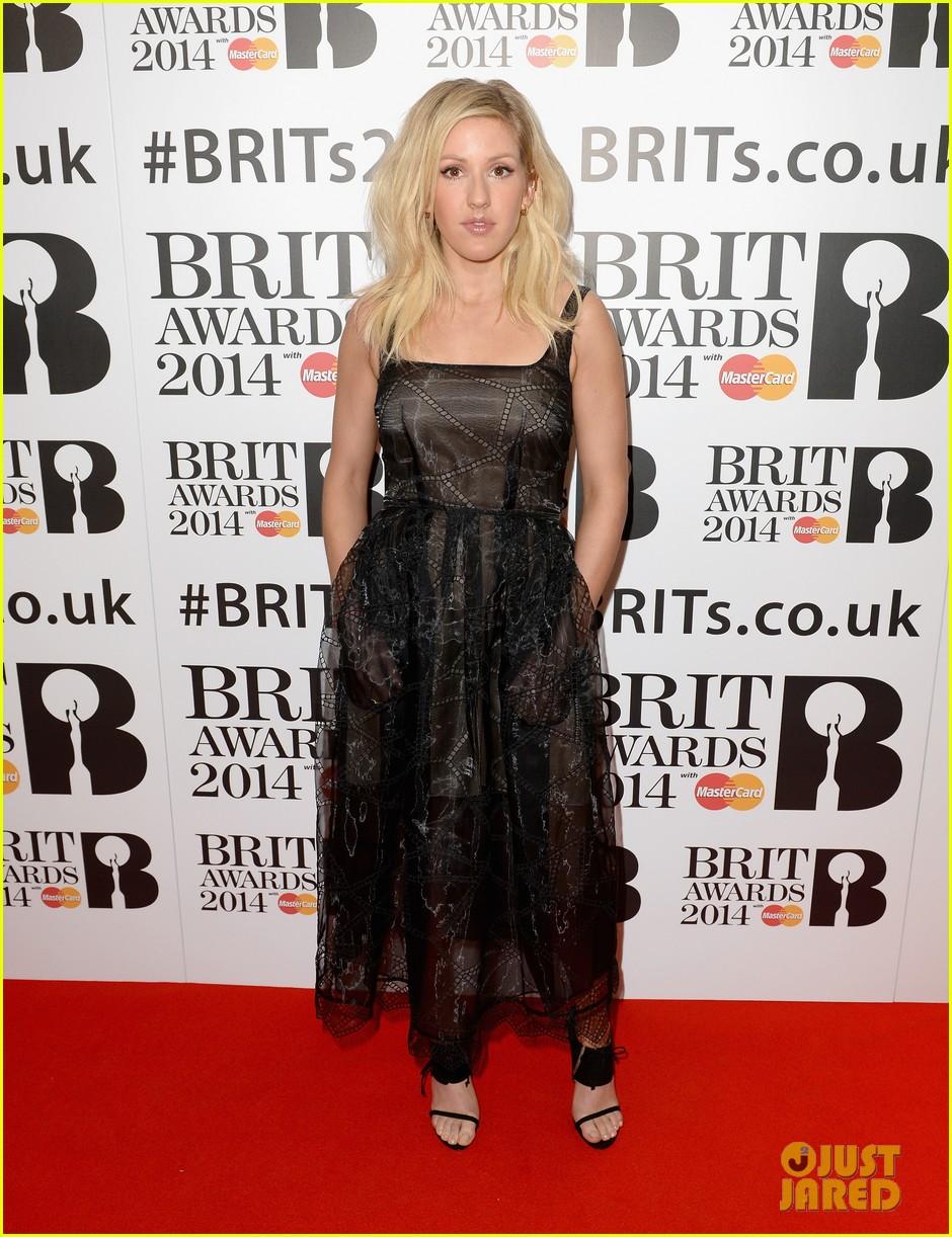 ellie goulding brit awards nominations ceremony 123026328