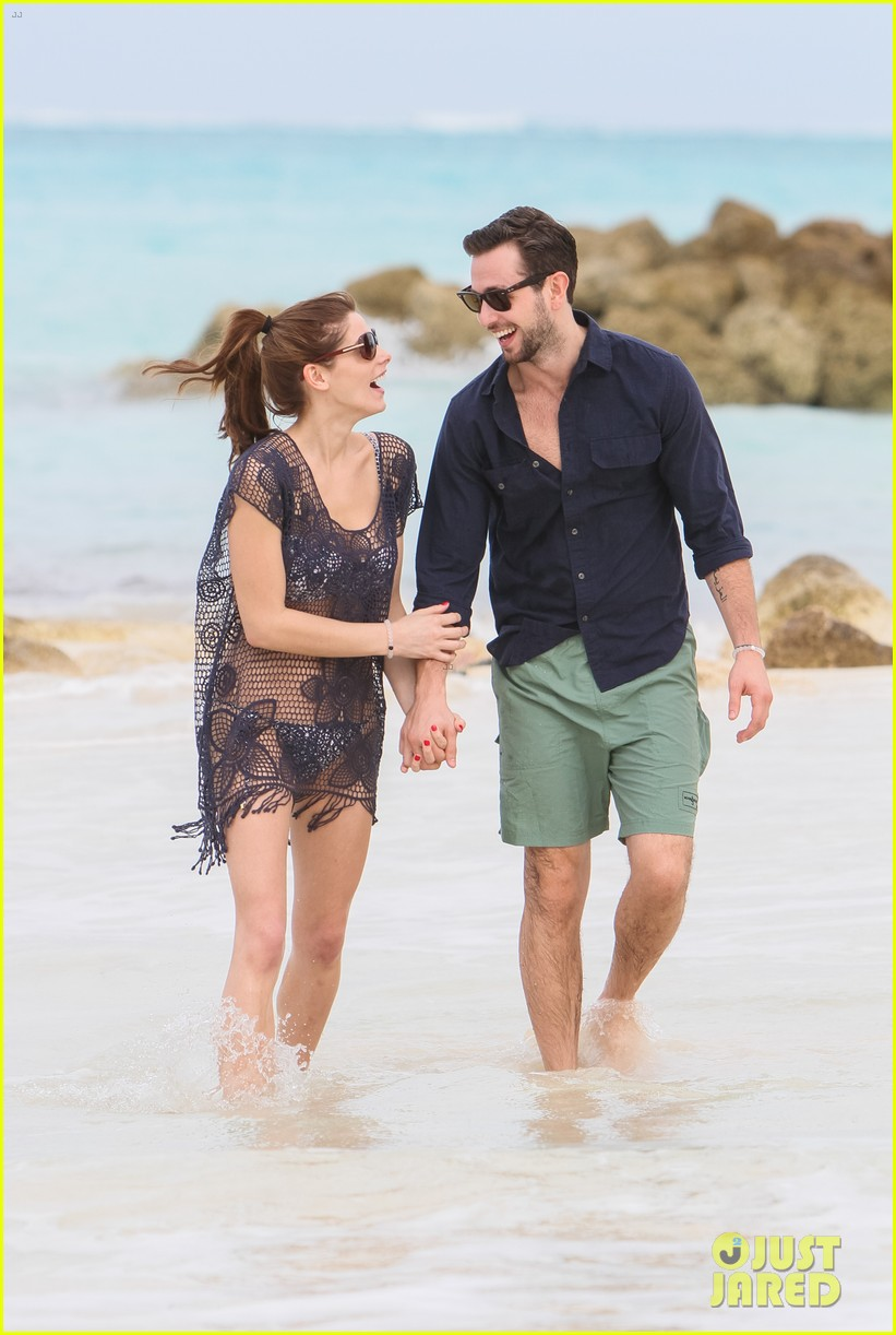 ashley greene bahamas bikini babe with paul khoury 013025450