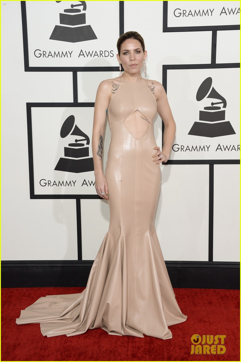 skylar grey grammys 2014 red carpet 033040909