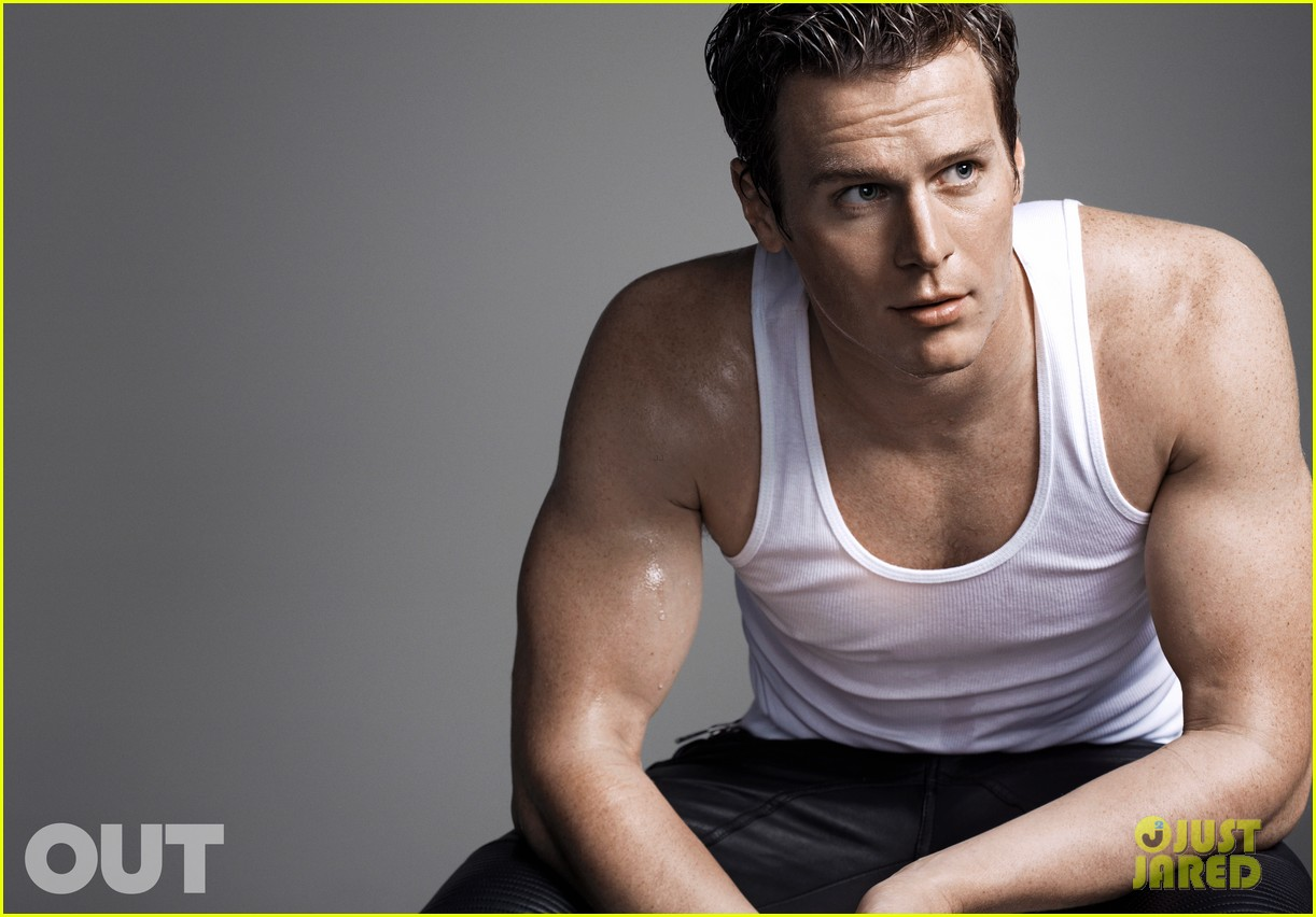 jonathan groff bares muscles for out magazine 043031139