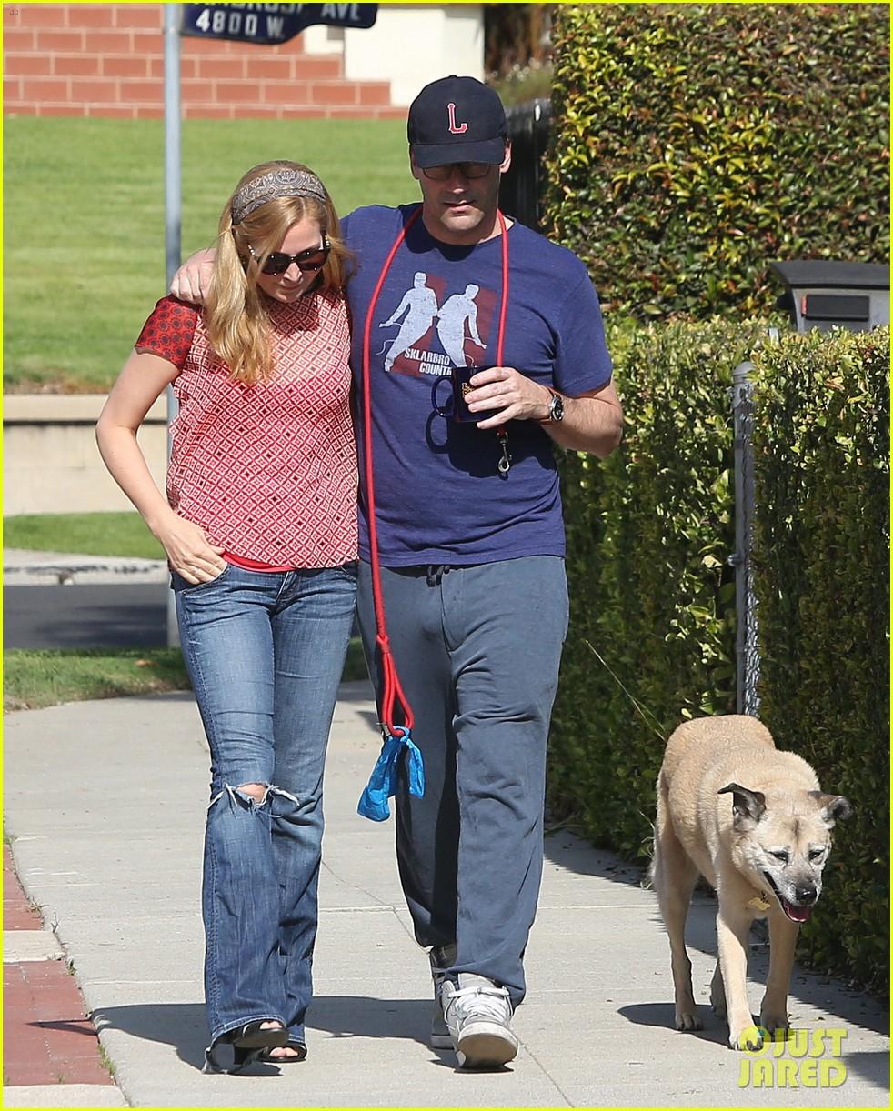 jon hamm stays comfy in sweatpants for morning dog walk 043038622