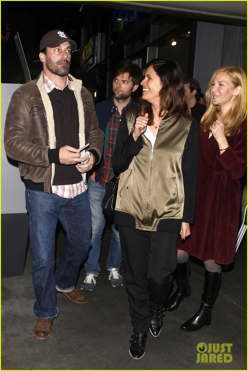 jon hamm jennifer westfeldt double date with adam scott 033021967