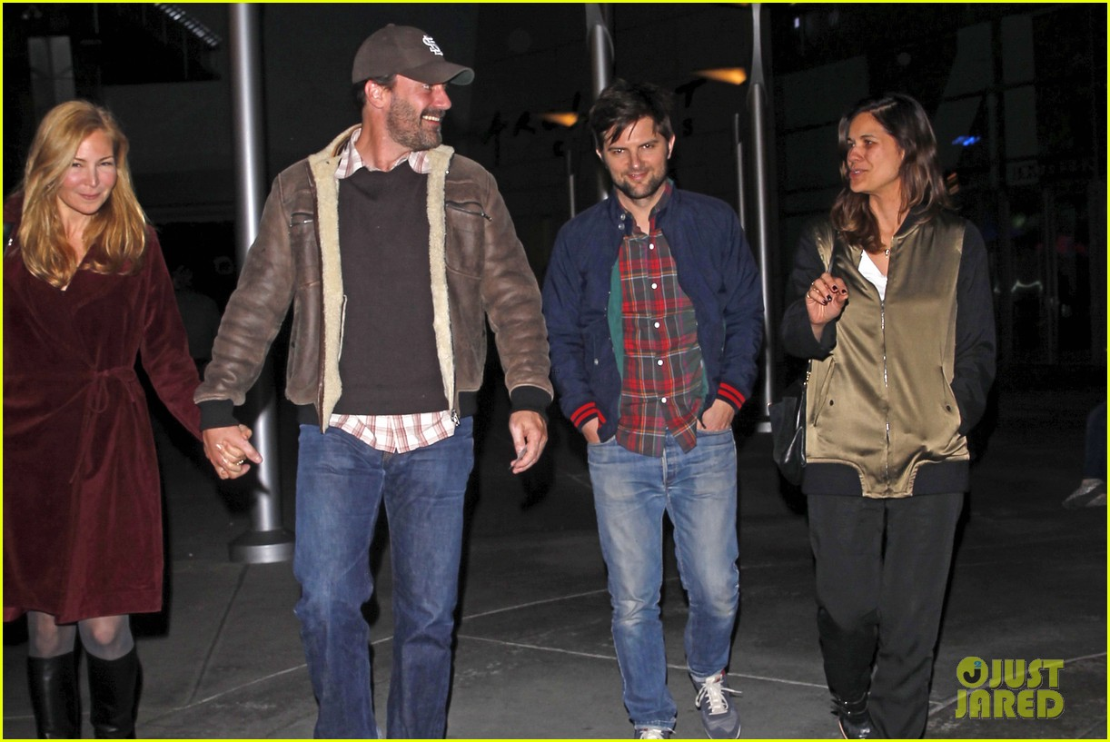 jon hamm jennifer westfeldt double date with adam scott 083021972