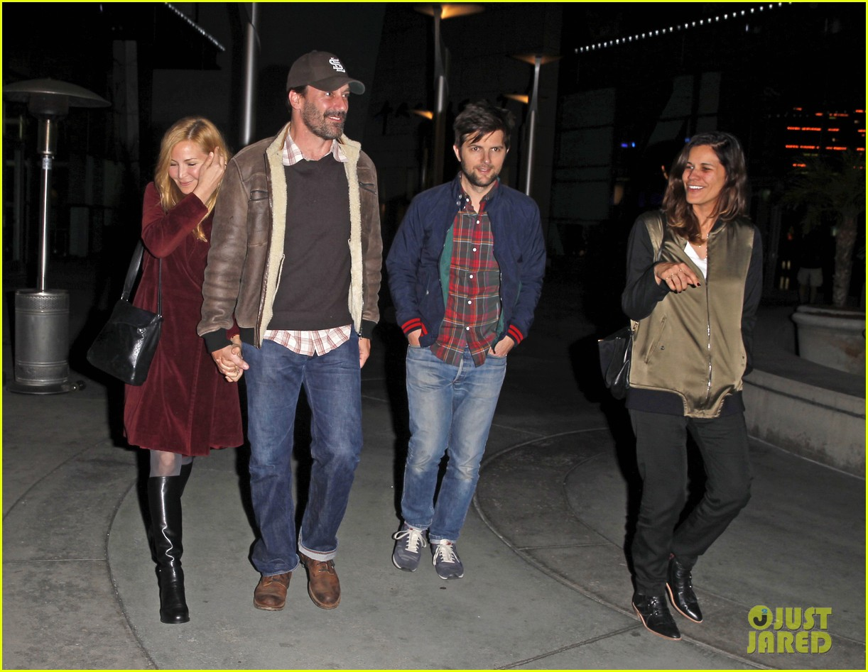 jon hamm jennifer westfeldt double date with adam scott 093021973