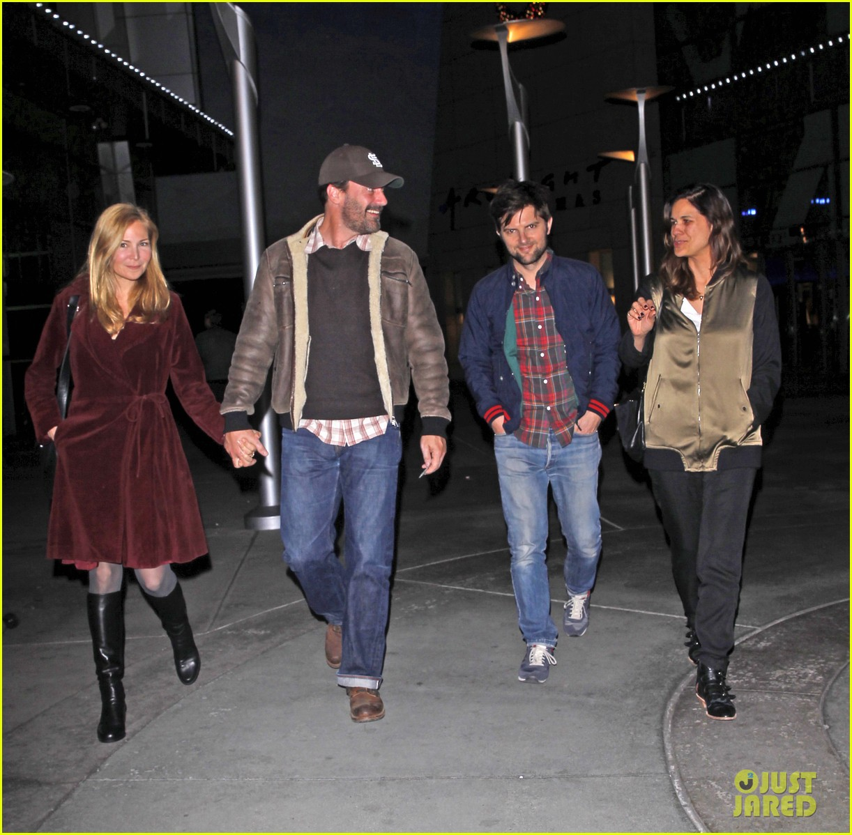 jon hamm jennifer westfeldt double date with adam scott 13