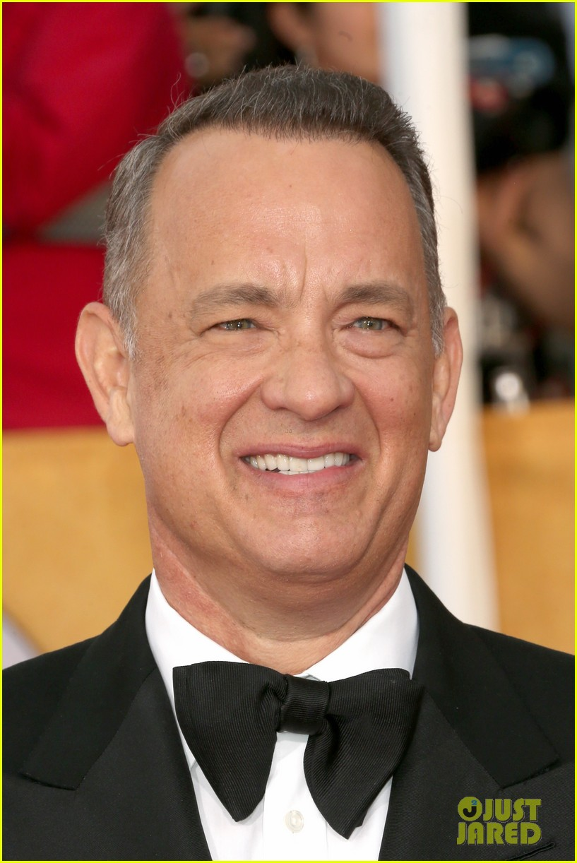 tom hanks sag awards 2014 red carpet with rita wilson 013034772
