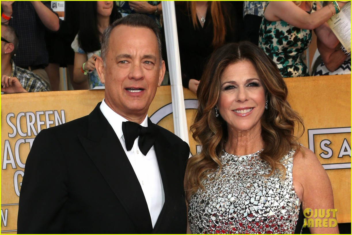 tom hanks sag awards 2014 red carpet with rita wilson 033034774