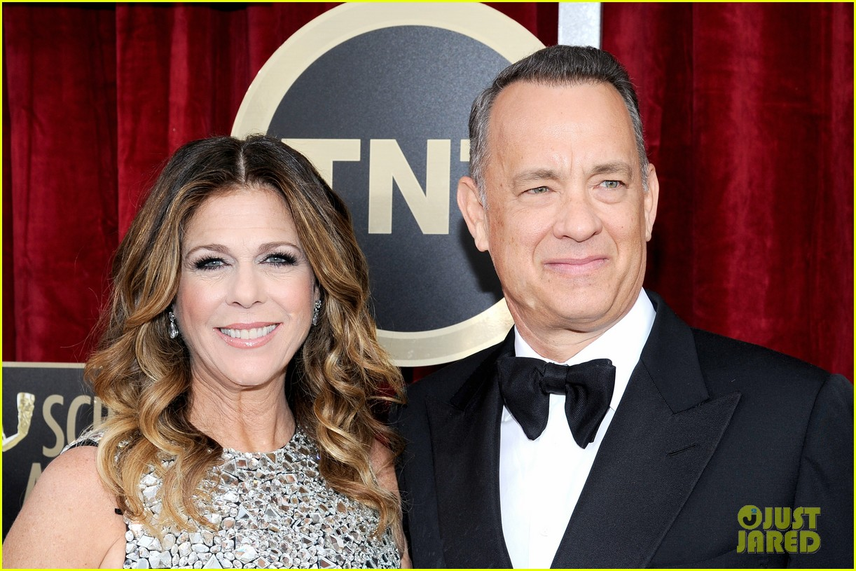 tom hanks sag awards 2014 red carpet with rita wilson 043034775