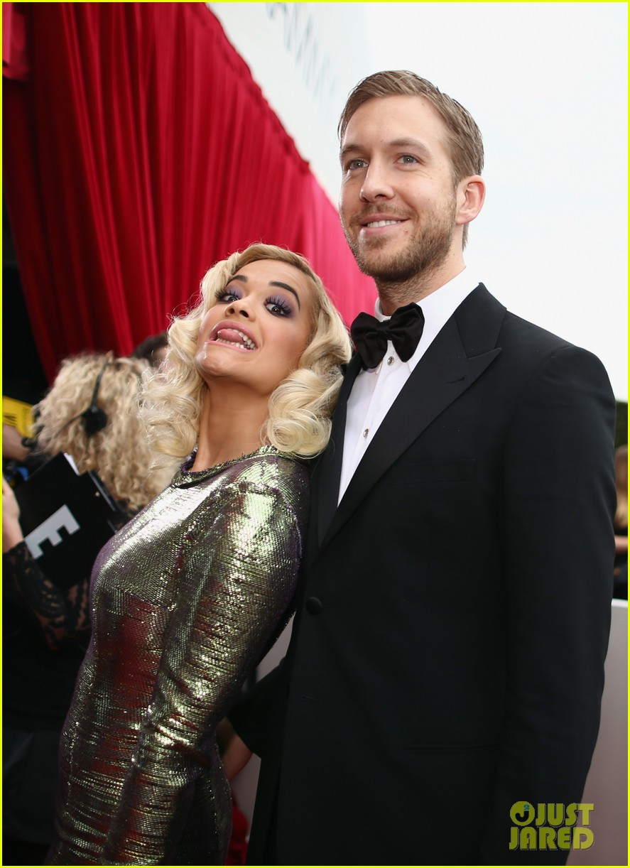 calvin harris grammys 2014 with rita ora 043041617