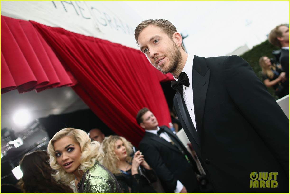 calvin harris grammys 2014 with rita ora 053041618