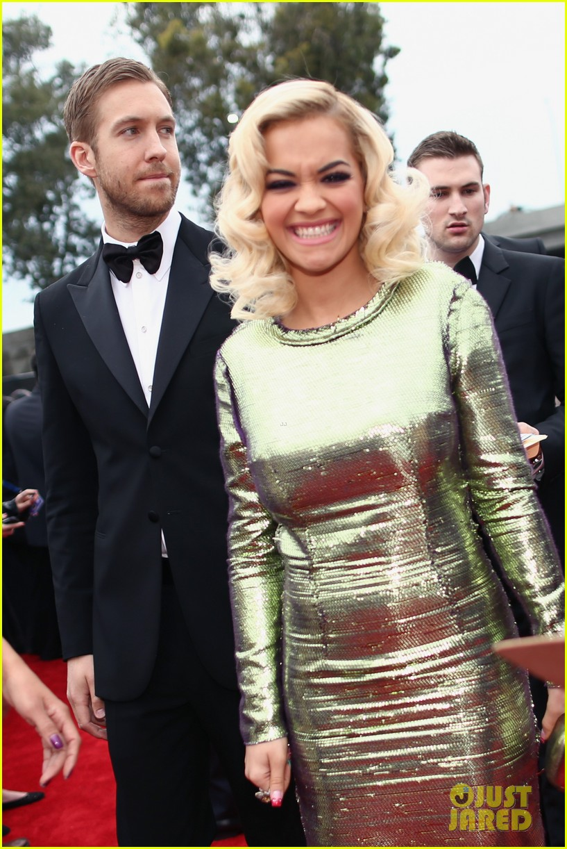 calvin harris grammys 2014 with rita ora 063041619