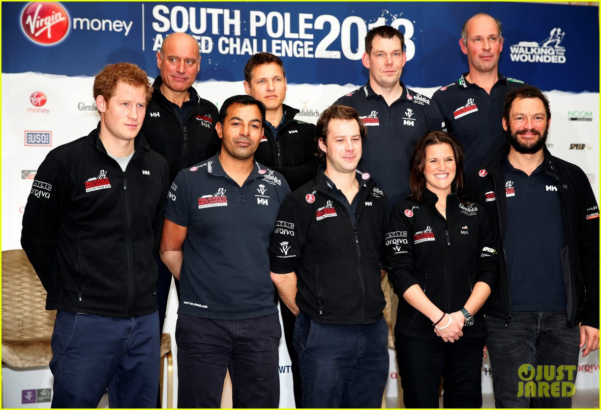 prince harry debuts freshly shaved face at south pole press conference 143037056