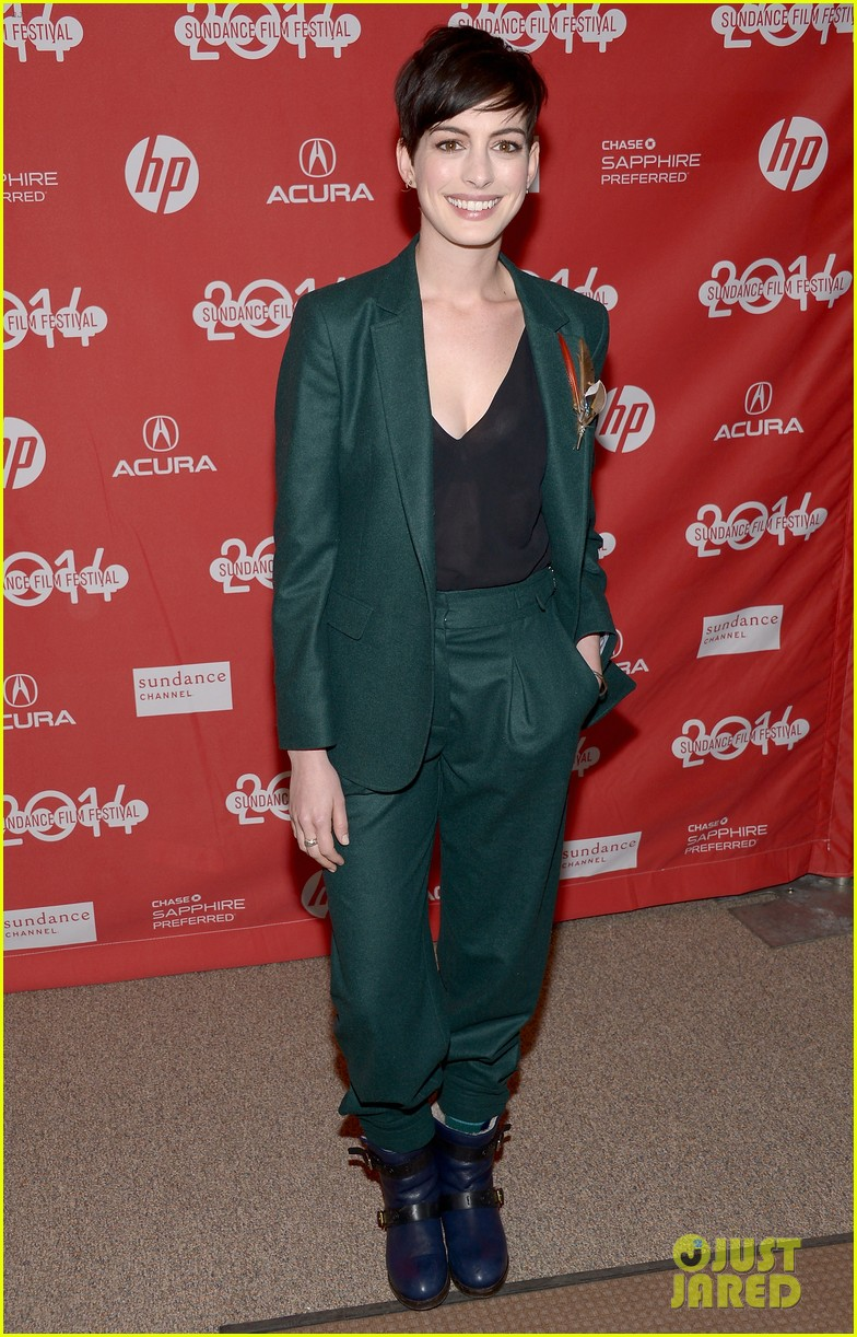 anne hathaway song one sundance premiere 093036547
