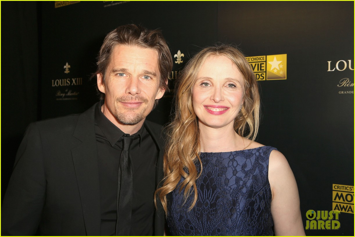 ethan hawke julie delpy win at critics choice awards 2014 14