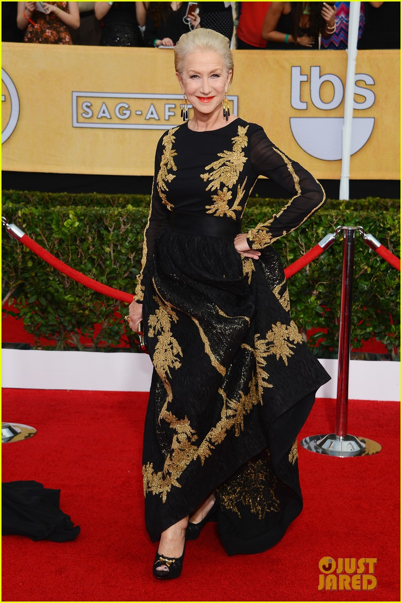 helen mirren sag awards 2014 red carpet 053034680