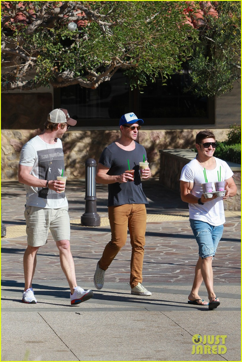 chris hemsworth pavilions grocery outing 063024326