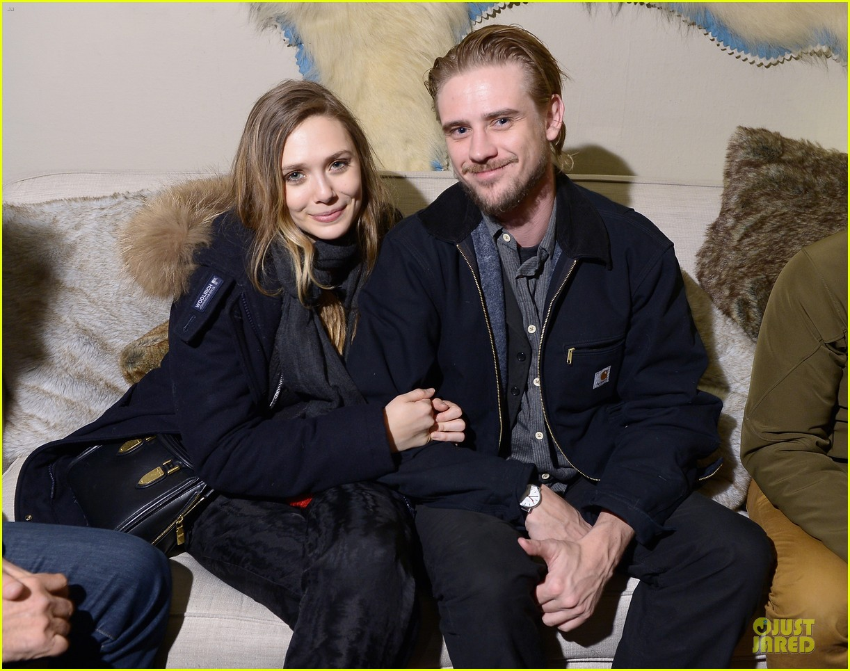 boyd holbrook elizabeth olsen meet up after little accidents premiere 05