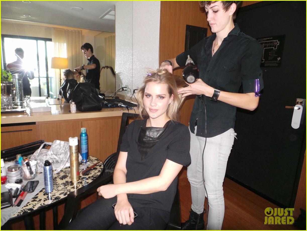 claire holt jj spotlight behind the scenes pics exclusive 033031095