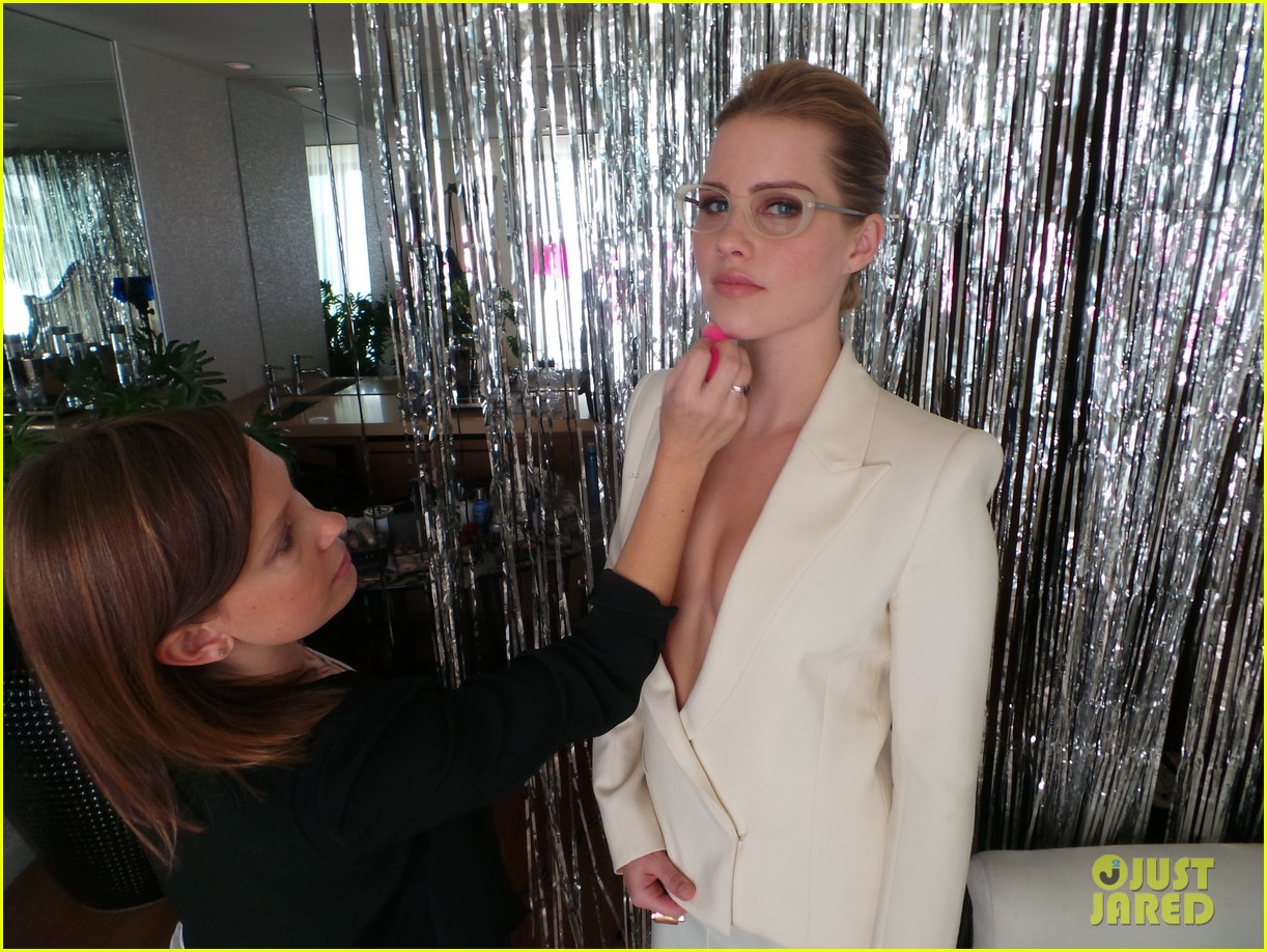claire holt jj spotlight behind the scenes pics exclusive 123031104