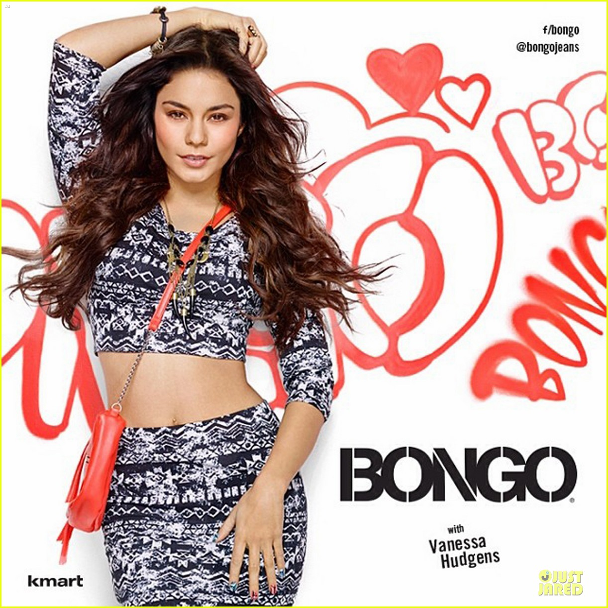 vanessa hudgens bares midriff for bongo 043024991