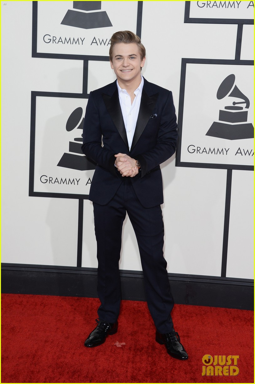hunter hayes grammys 2014 red carpet 023040922