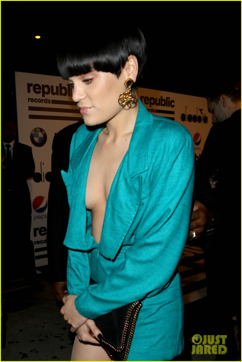 jessie j republic records grammys 2014 after party 02