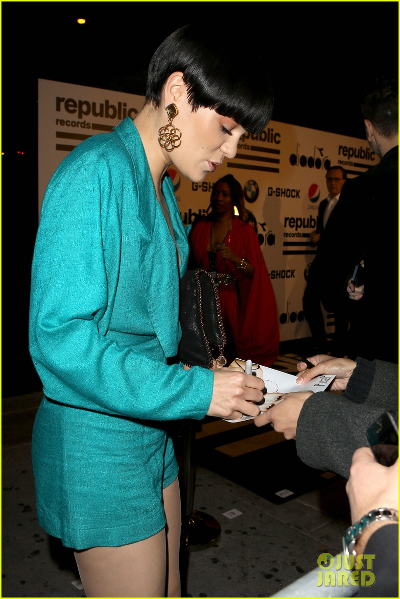 jessie j republic records grammys 2014 after party 153042003