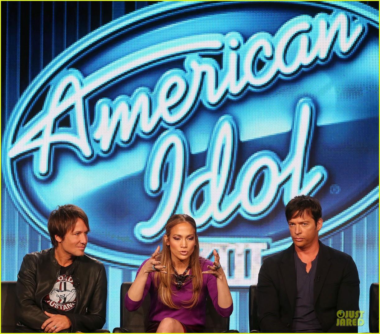 jennifer lopez american idol tca panel with keith urban 113030570