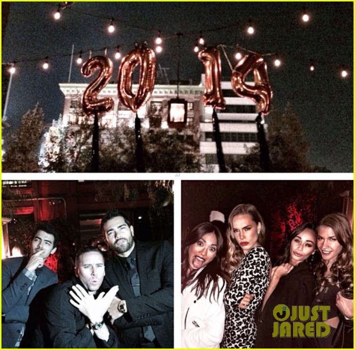 joe jonas jesse metcalfe new years eve party with their lady loves 03