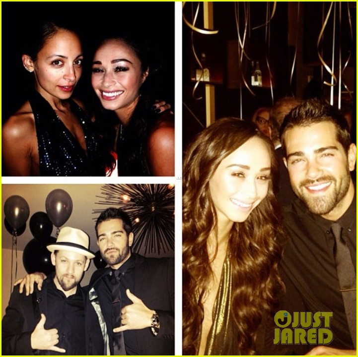 joe jonas jesse metcalfe new years eve party with their lady loves 053021037