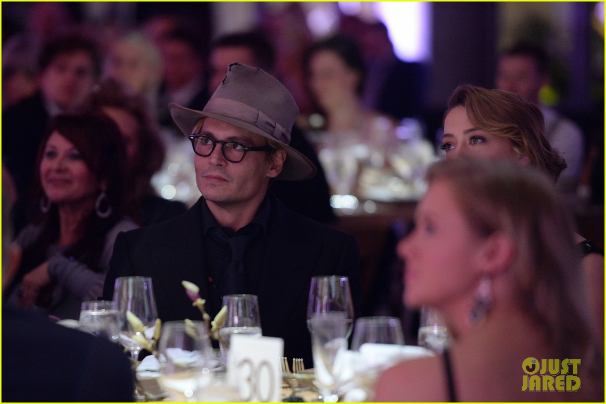 johnny depp amber heard art of elysium heaven gala 163028597