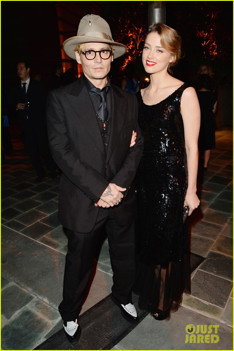 johnny depp amber heard art of elysium heaven gala 203028601