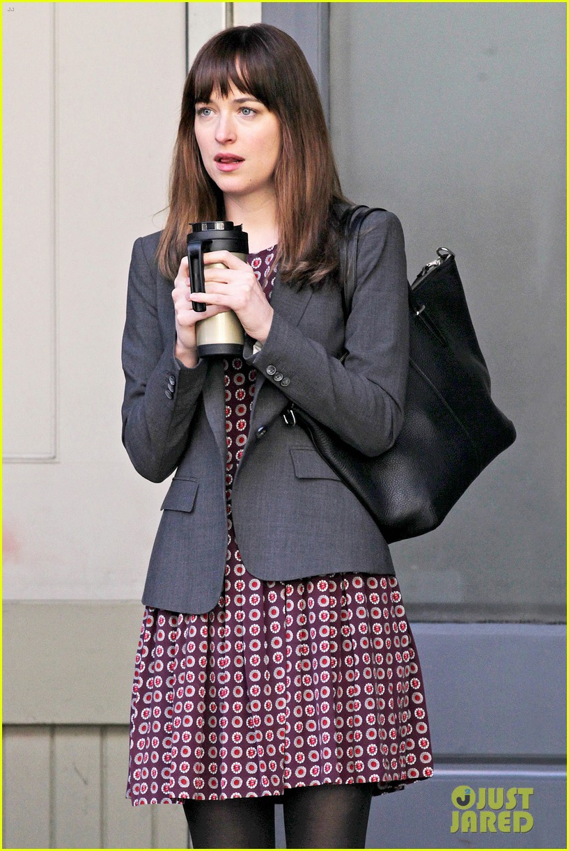 dakota johnson shoots fifty shades scenes with max martini 063033150