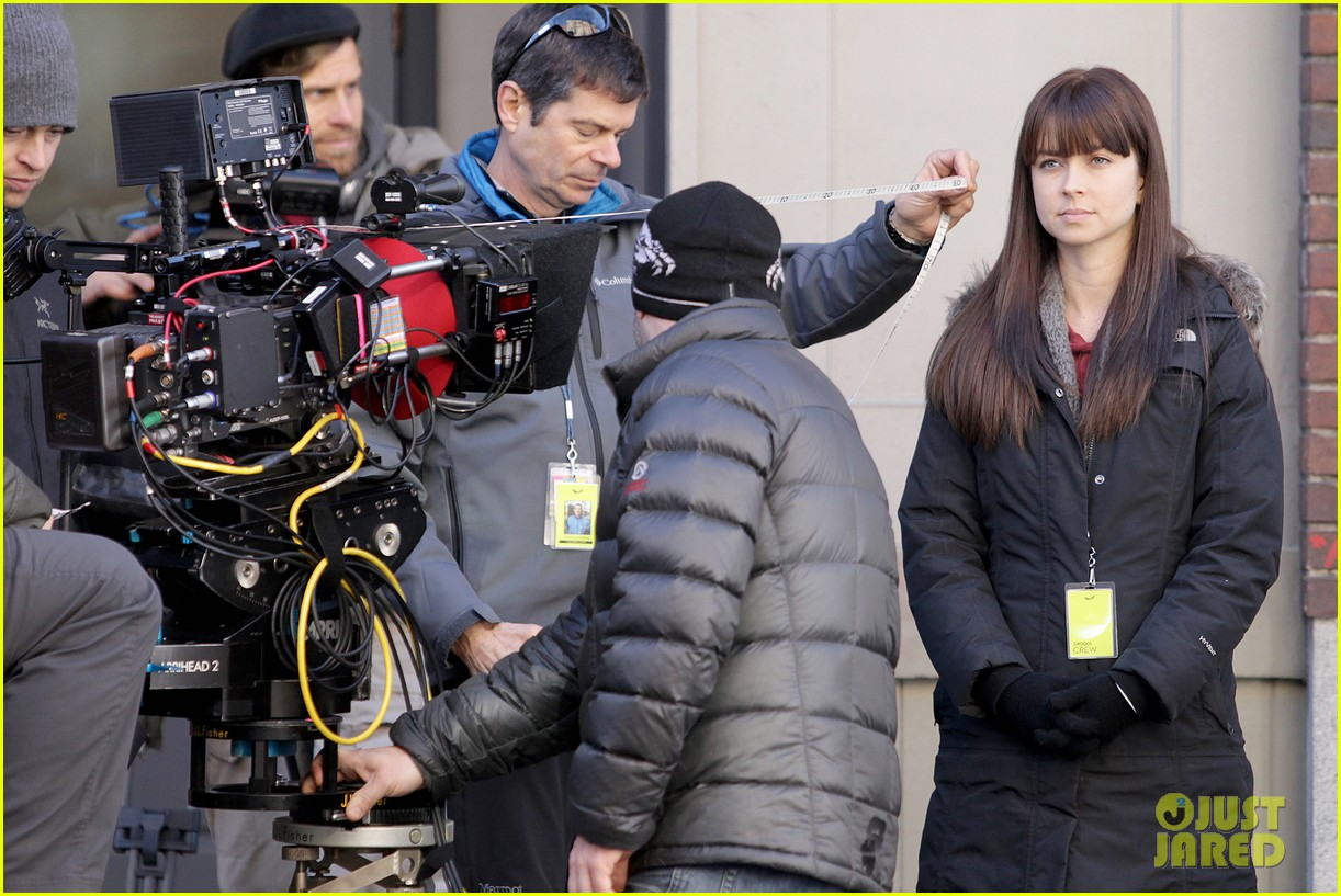 dakota johnson shoots fifty shades scenes with max martini 233033167