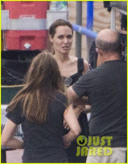 angelina jolie continues directing unbroken in australia 013039249
