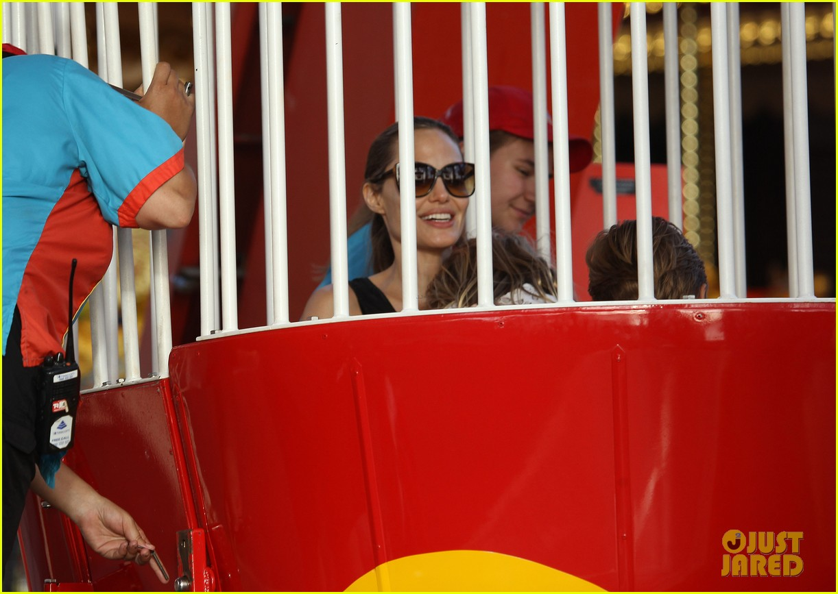 angelina jolie luna park fun with the kids 283024401