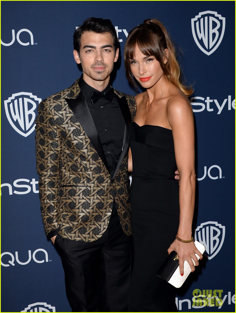 joe nick jonas bring girlfriends to golden globes parties 2014 023030187