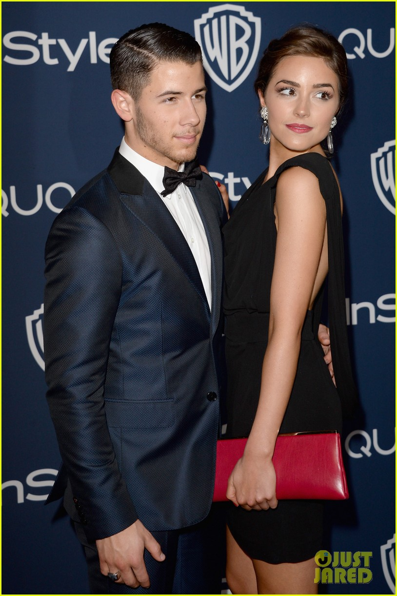 joe nick jonas bring girlfriends to golden globes parties 2014 04