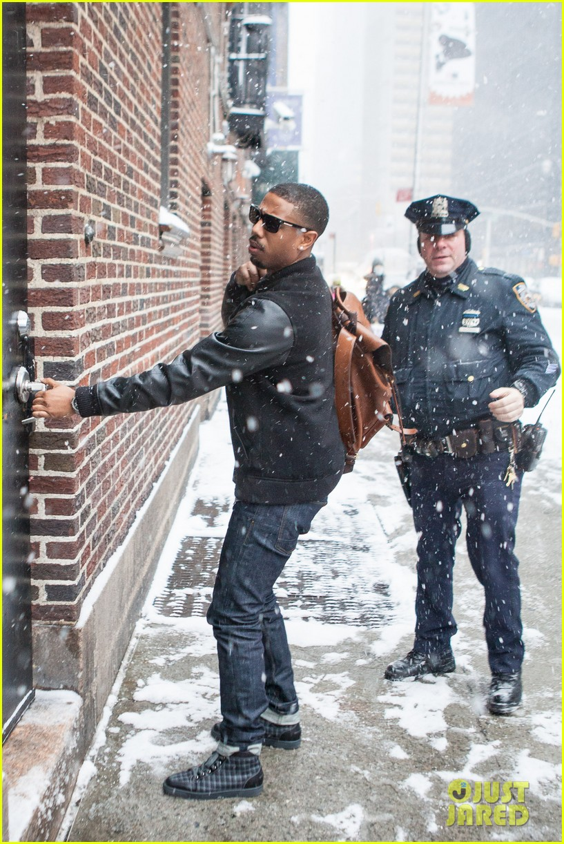 michael b jordan late show with david letterman visit 073037577