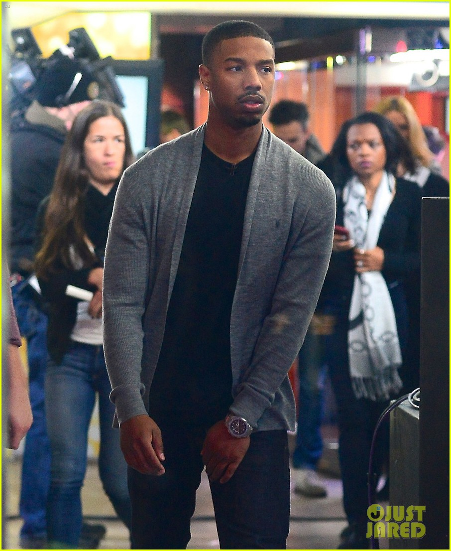 michael b jordan late show with david letterman visit 10