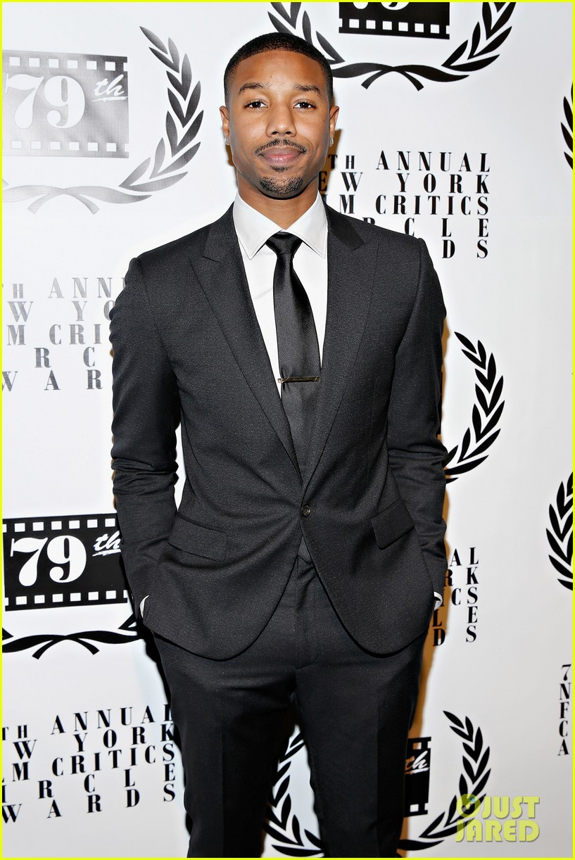 michael b jordan presents at nyfcc awards with fruitvale station co stars 013024454