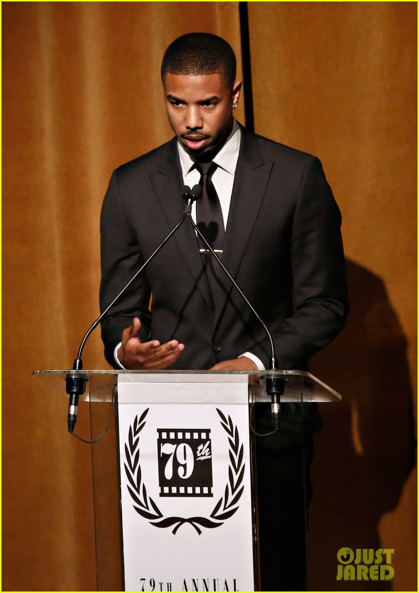 michael b jordan presents at nyfcc awards with fruitvale station co stars 043024457