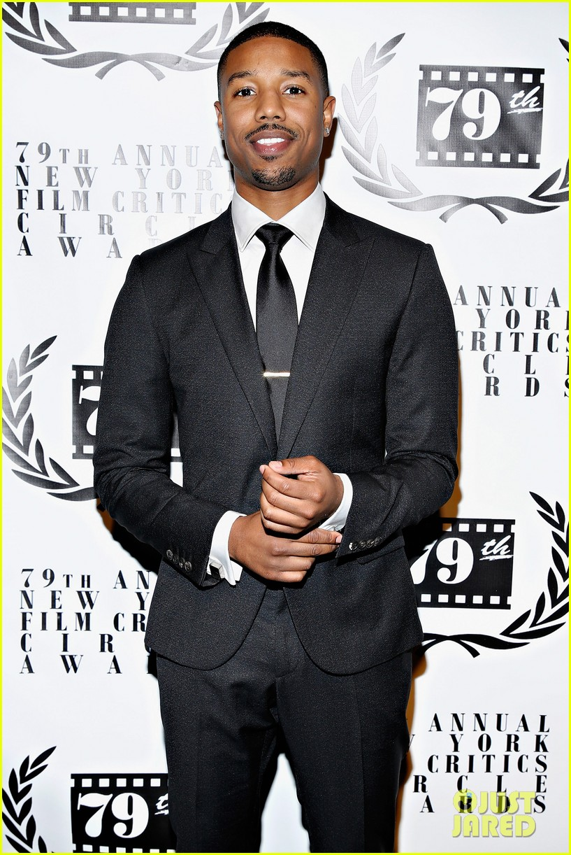 michael b jordan presents at nyfcc awards with fruitvale station co stars 073024460