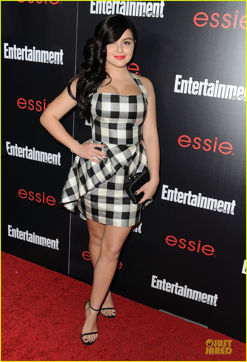 jesse tyler ferguson ariel winter ew sag nominees party 123034229